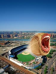 screaming baseball home run