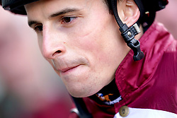 Jockey William Buick after winning the Champions Day On Sky Sports Racing Nursery on Pocket The Profit at Wolverhampton racecourse. Picture date: Monday October 11, 2021.