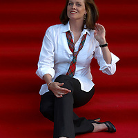 """Actress Sigourney Weaver at the premiere of her movie """"Snow Cake"""" at the Edinburgh International Film festival 2006<br />"""