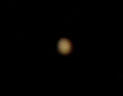 Jupiter in the night sky over Denny, Scotland..©Michael Schofield.
