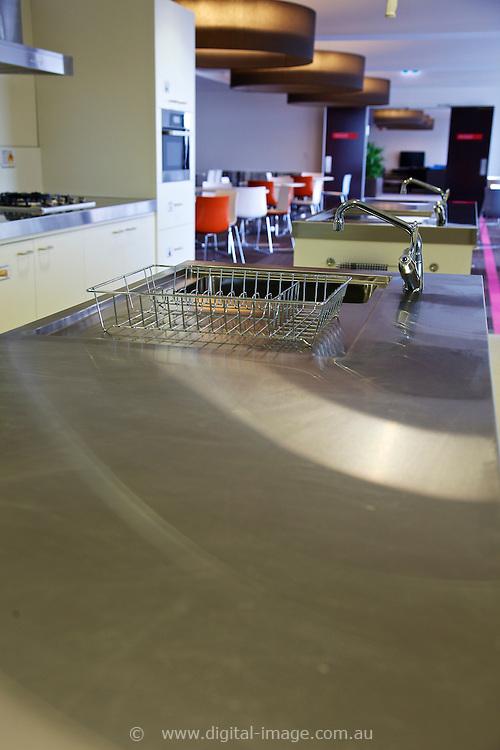 User Accomodation facility at the Australian Synchrotron,  kitchen facility