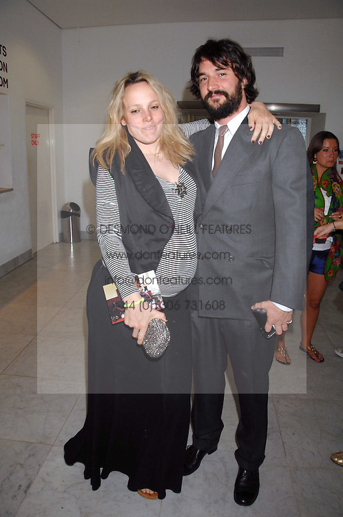 BAY GARNETT and TOM CRAIG at a reception hosted by Vogue magazine to launch photographer Tim Walker's book 'Pictures' sponsored by Nude, held at The Design Museum, Shad Thames, London SE1 on 8th May 2008.<br /><br />NON EXCLUSIVE - WORLD RIGHTS