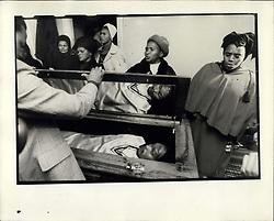 Sep. 25, 1977 - Steve Biko's Funeral - King William's Town, S.A. Political Attempt (Credit Image: © Keystone Press Agency/Keystone USA via ZUMAPRESS.com)