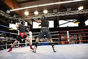 """Boxen: Boxen im Norden, Hamburg, 15.03.2021<br /> Sparring: Alexander """"Alex"""" Pavlov und Rafael Bejaran <br /> © Torsten Helmke"""