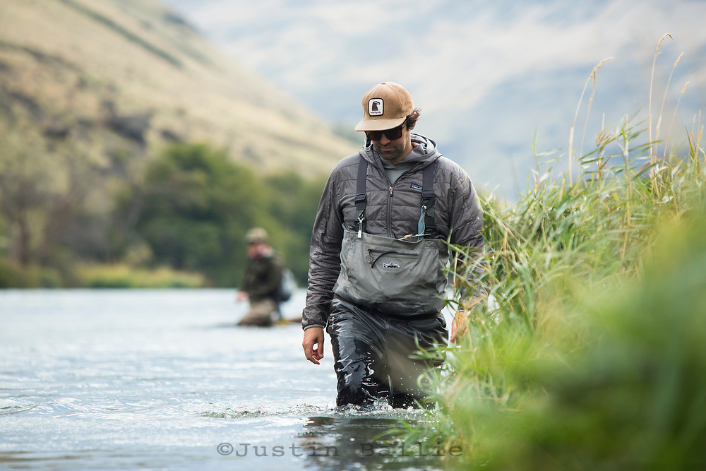 Jeff Hickman of Fish the Swing on the Deschutes River in eastern Oregon.