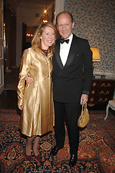 RUPERT & CAROLINE LENDRUM he was Prince Charles's former senior equerry at a pub style quiz night in aid of Rapt at Willaim Kent House, The Ritz, London on 25th June 2006.  The questions were composed by Judith Keppel and the winning team won £1000 to donate to a charity of their choice.<br /><br />NON EXCLUSIVE - WORLD RIGHTS
