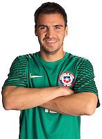 Football Conmebol_Concacaf - <br />Copa America Centenario Usa 2016 - <br />Cile National Team - Group D - <br />Cristopher Toselli