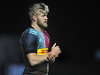Rugby Union - 2020 / 2021 Gallagher Premiership - Round 1 - Harlequins vs Exeter - The Stoop<br /> <br /> Tyrone Green of Quins making his debut<br /> <br /> COLORSPORT/ANDREW COWIE