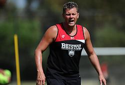 Bristol City manager, Steve Cotterill watches his players train  - Photo mandatory by-line: Joe Meredith/JMP - Mobile: 07966 386802 - 16/07/2015 - SPORT - Football - Albufeira -  - Pre-Season Training