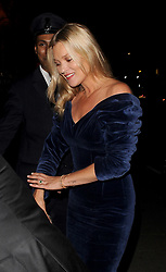 Kate Moss seen arriving at private members club Annabel's in London and Mayfair to celebrate her mothers birthday. 7th September 2017. 07 Sep 2017 Pictured: Kate Moss seen arriving at private members club Annabel's in London and Mayfair to celebrate her mothers birthday. 7th September 2017. Photo credit: Mirrorpix / MEGA TheMegaAgency.com +1 888 505 6342