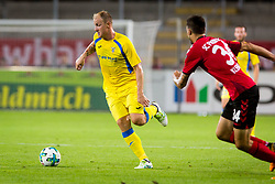 Senijad Ibricic of NK Domzale during 1st Leg football match between FC Freiburg and NK Domzale in 3rd Qualifying Round of UEFA Europa League 2017/18, on July 27, 2017 in Schwarzwald Stadion, Freiburg, Germany. Photo by Ziga Zupan / Sportida