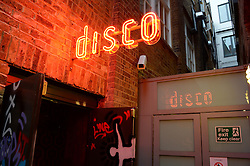 Atmosphere at a party to celebrate the launch of Charlie Gilkes and Duncan Stirling's new nightclub 'Disco' at 13 Kingly Court, London on 26th June 2013.