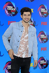 August 13, 2017 - Los Angeles, CA, USA - LOS ANGELES - AUG 13:  Carter Jenkins at the Teen Choice Awards 2017 at the Galen Center on August 13, 2017 in Los Angeles, CA (Credit Image: © Kay Blake via ZUMA Wire)