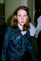 LADY FRANCES ARMSTRONG-JONES daugnter of the Earl of Snowdon, at a party in London on 7th July 1997.MAB 45