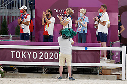 Kiss and Cry, Team Spain<br /> Olympic Games Tokyo 2021<br /> © Hippo Foto - Dirk Caremans<br /> 24/07/2021