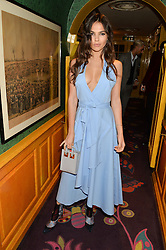 DOINA CIOBANU at a party to celebrate Alice Naylor-Leyland's Collaboration with French Sole held at Annabel's, 44 Berkeley Square, London on February 2nd 2016