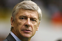 Photo: Chris Ratcliffe.<br />Tottenham Hotspur v Arsenal. The Barclays Premiership.<br />29/10/2005.<br />Arsene Wenger.