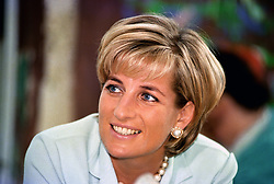Embargoed to 0001 Thursday August 09 File photo dated 27/05/1997 of Diana, Princess of Wales, who has been voted fifteenth in a list of women who have made the most significant impact on world history.