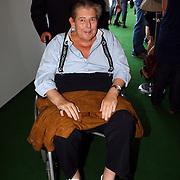 NLD/Amsterdam/20070725 - Modeshow Judith Osborn tijdens de Amsterdam Fashionweek 2007, Robert Osborn in een rolstoel