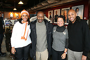 Sherri James and Steven Hill and  Debra Lee and Brickson Diamond at The Black House during the 2008 Sundance Film Festival. ..HISTORY..The Blackhouse Foundation was created in 2007 by a group of dedicated individuals interested in black cinema - preserving and furthering its legacy. Black House works to provide a platform for African American filmmakers to use their voice to tell stories by and about African Americans in the world of independent and feature films...Black filmmakers made history in 2007, the year The Blackhouse Foundation launched the Blackhouse® venue at the 2007 Sundance Film Festival.  Blackhouse® played host to over 150 daily visitors with more than 1,200 people visiting the venue throughout the festival.  Blackhouse® was open to the public throughout the day, hosted workshops, a legendary nightly cocktail hour, a marquee party for Our Stories Films, LLC and launched a landmark fellows program for young, aspiring filmmakers.  ..MISSION..The mission of the Blackhouse Foundation is to expand opportunities for Black filmmakers by providing a physical venue for our constituents at the world's most prominent film festivals and creating a nucleus for continuing support, community, education and knowledge.  .