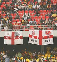 Photo: Steve Bond/Richard Lane Photography.<br />Ghana v Morocco. Africa Cup of Nations. 28/01/2008. The Junior Agogo fanclub?