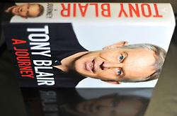 LONDON:  'A Journey' the memoir of Tony Blair on 1st Sept 2010. STEPHEN SIMPSON..