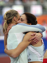 Snezana Rodic of Slovenia placed sixth and Marija Sestak of Slovenia placed second at the final of Women Triple  jump at the 3rd day of  European Athletics Indoor Championships Torino 2009 (6th - 8th March), at Oval Lingotto Stadium,  Torino, Italy, on March 8, 2009. (Photo by Vid Ponikvar / Sportida)
