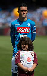 May 6, 2018 - Naples, Campania, Italy - Josè Callejon of SSC Napoli seen before the Serie A football match between SSC Napoli and Torino FC at San Paolo Stadium. (Credit Image: © Ernesto Vicinanza/SOPA Images via ZUMA Wire)