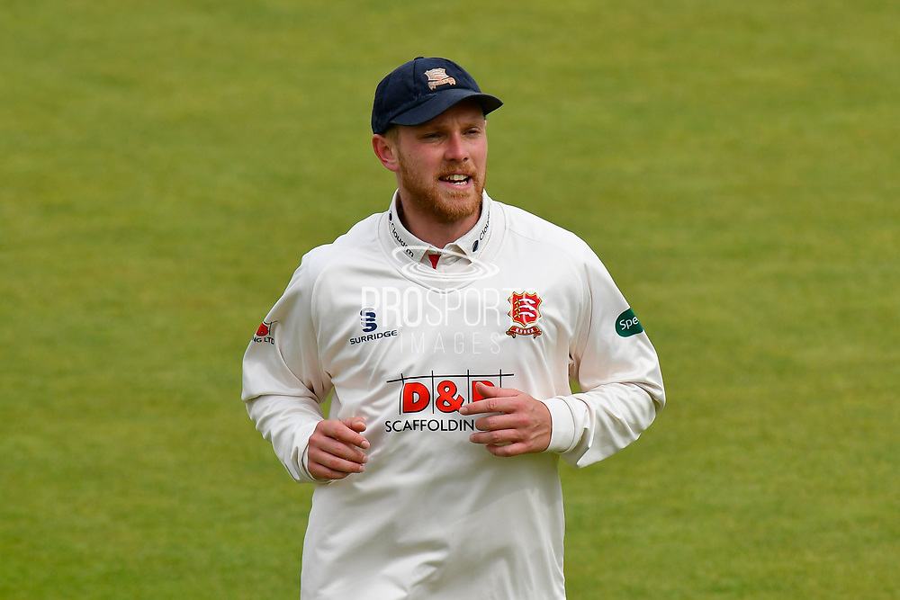 Jamie Porter of Essex during the first day of the Specsavers County Champ Div 1 match between Hampshire County Cricket Club and Essex County Cricket Club at the Ageas Bowl, Southampton, United Kingdom on 5 April 2019.