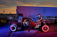 USA, Pacific Northwest, Oregon, American Dreamscapes, The Hot Rod