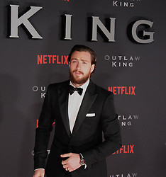 Outlaw King Premiere, Edinburgh, Friday 19th October 2018<br /> <br /> Outlaw King is a Netflix film and follows 14th century Scottish king Robert the Bruce prior to his coronation and through to his rebellion against the English, who at the time were occupying Scotland.<br /> <br /> Stars, crew and guests appear on the red carpet for the Scottish premiere.<br /> <br /> Pictured: Aaron Taylor-Johnson<br /> <br /> Alex Todd   Edinburgh Elite media