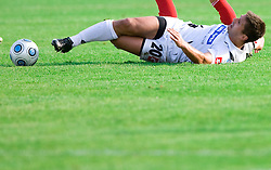 Amir Karic of Koper at the football match Interblock vs NK Luka Koper in 12th Round of Prva liga 2009 - 2010,  on October 03, 2009, in ZSD Ljubljana, Ljubljana, Slovenia. Luka Koper won 1:0.  (Photo by Vid Ponikvar / Sportida)