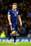 Scotland forward Ryan Fraser (11) (Bournmouth) during the UEFA Nations League match between Scotland and Israel at Hampden Park, Glasgow, United Kingdom on 20 November 2018.