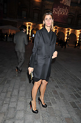 Princess Rosario Saxe-Coburg attends the private view of Anish Kapoor's latest exhibition at the Royal Academy of Arts, Piccadilly, London on 22nd September 2009