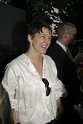 SADIE COLES, The Summer Party sponsored by Yves St. Laurent. Serpentine Gallery. 11 July 2006. . ONE TIME USE ONLY - DO NOT ARCHIVE  © Copyright Photograph by Dafydd Jones 66 Stockwell Park Rd. London SW9 0DA Tel 020 7733 0108 www.dafjones.com