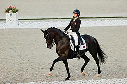 TOKYO - Olympische Spiele / Olympic Games 2021<br /> <br /> KRUTH Carina Cassøe (DEN), Heiline's Danciera<br /> Grand Prix de Dressage<br /> <br /> Tokio, Equestrian Park<br /> 25. July 2021<br /> © www.sportfotos-lafrentz.de/Stefan Lafrentz