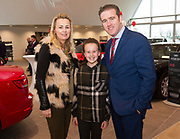 Connolly Motor Group has opened its new state-of-the-art Audi Terminal Showrooms in Ballybrit, Galway. <br /> The finishing touches have been put to the ultra-modern dealership, increasing to 35 full-time jobs, bringing the number of full-time employees at the Connolly Motor Group to over  200 with 35 of those located in Galway.<br /> Work on the new €5 million state-of-the-art dealership began just before Christmas last year and opened on Tuesday October 31st.<br /> The new 'Audi Terminal' is just a stone's throw from Connollys' former Audi Galway dealership at the Briarhill Business Park, close to the Galway Racecourse in Ballybrit. <br /> Finished to the highest spec with the most up-to-date technology, the 23,000 sq. ft. car retail facility is based around Audi's newest design concept. <br /> It is one of the most modern facilities in the country and includes the most up-to-date technology for electric vehicles with multiple power points.<br /> At the Weekend launch was  Kevin Connolly and his wife Shonagh  Photo:Andrew Downes