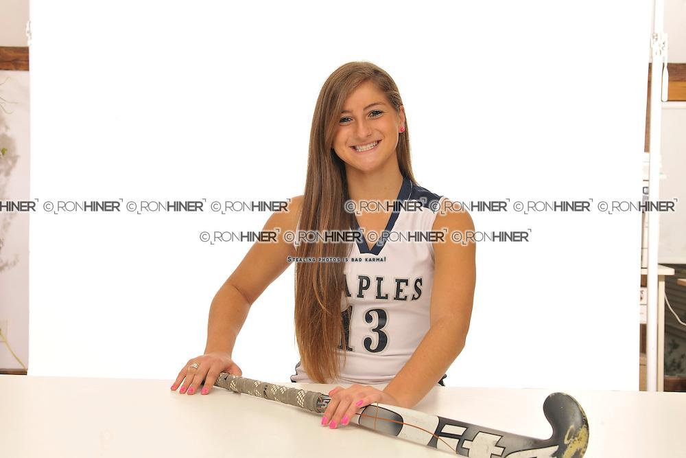 Staples High School Field Hockey..Senior portraits.Misha Strage (SR)(C)