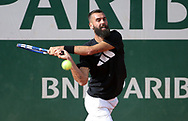 Benoit Paire of France during practice ahead of the French Open 2021, a Grand Slam tennis tournament at Roland-Garros stadium on May 29, 2021 in Paris, France - Photo Jean Catuffe / ProSportsImages / DPPI