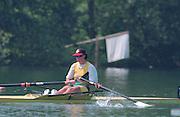 Lucerne, Switzerland. 1995 FISA WC III, Lake Rotsee, Lucerne,<br /> AUS W1X.<br /> [Mandatory Credit. Peter SPURRIER/Intersport Images]<br /> <br /> Image scanned from Colour Negative