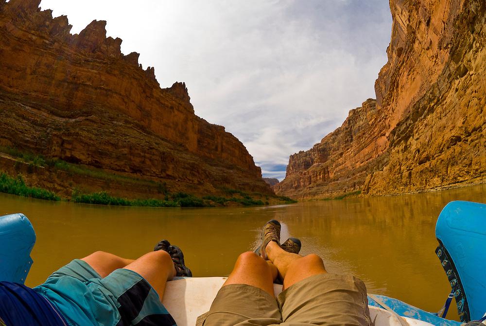 Cove Canyon, Colorado River, Glen Canyon National Recreation Area, Utah USA