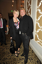 MARK FULLER and his wife Mandy (Check!!!!)  at the Tatler Restaurant Awards, at the Langham Hotel, Portland Place, London n 10th May 2010.