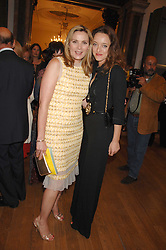 Left to right, KIM CATTRALL and ALICE TEMPERLEY at the Royal Academy of Arts Summer Exhibition Party at the Royal Academy, Piccadilly, London on 6th June 2007.<br /><br />NON EXCLUSIVE - WORLD RIGHTS