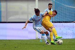"""Foto Filippo Rubin<br /> 26/03/2017 Ferrara (Italia)<br /> Sport Calcio<br /> Spal vs Frosinone - Campionato di calcio Serie B ConTe.it 2016/2017 - Stadio """"Paolo Mazza""""<br /> Nella foto: MICHELE CASTAGNETTI<br /> <br /> Photo Filippo Rubin<br /> March 26, 2017 Ferrara (Italy)<br /> Sport Soccer<br /> Spal vs Frosinone - Italian Football Championship League B ConTe.it 2016/2017 - """"Paolo Mazza"""" Stadium <br /> In the pic: MICHELE CASTAGNETTI"""