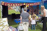 Brownies at summer fete