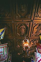 Ceiling, Hearst Castle