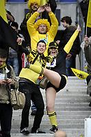 FOOTBALL - FRENCH CUP 2011/2012 - FINAL - OLYMPIQUE LYONNAIS v US QUEVILLY - 28/04/2012 - PHOTO JEAN MARIE HERVIO / REGAMEDIA / DPPI - FANS QUEVILLY