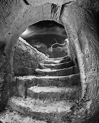 Insediamento ripestre a Roca Vecchia, Melendugno in provincia di Lecce