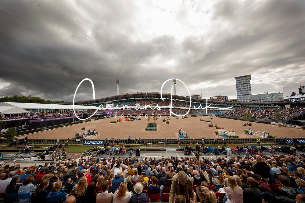 overview arena<br /> FEI European Jumping Championships - Goteborg 2017 <br /> © Hippo Foto - Dirk Caremans<br /> 27/08/2017,