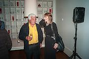 ANTONIO CARLUCCIO; KATE POLLARD, Launch party for the publication of Antonio Carluccio's memoirs, A Recipe for Life, . Carluccio's in Covent Garden Garrick St. London.  26 September 2012